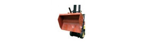 Hydraulické a mechanické lopaty