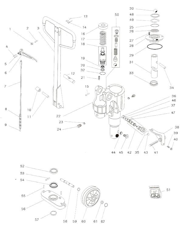 Eurolifter - hydraulická jednotka