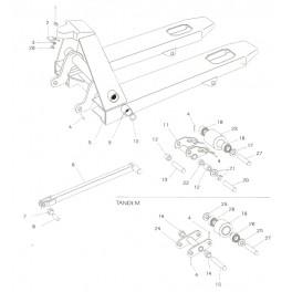 Hyster PM22 easylift - hlavní rám
