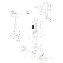 Toyota HT20 -hydraulická jednotka